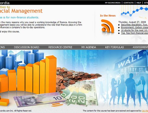 FINA 230 – Introduction to Financial Management
